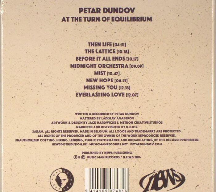 DUNDOV, Petar - At The Turn Of Equilibrium