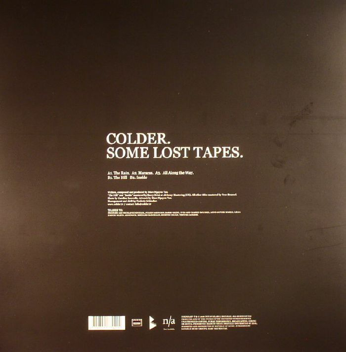 COLDER - Some Lost Tapes (Record Store Day 2016)