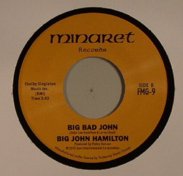 HARRIS, Betty/BIG JOHN HAMILTON - There's A Break In The Road