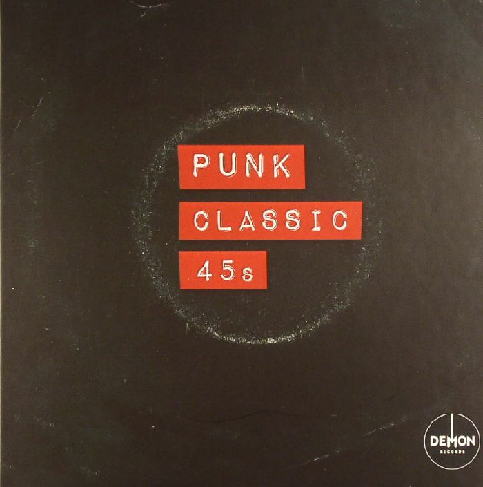 VARIOUS - Punk: Classic 45s (Record Store Day 2016)