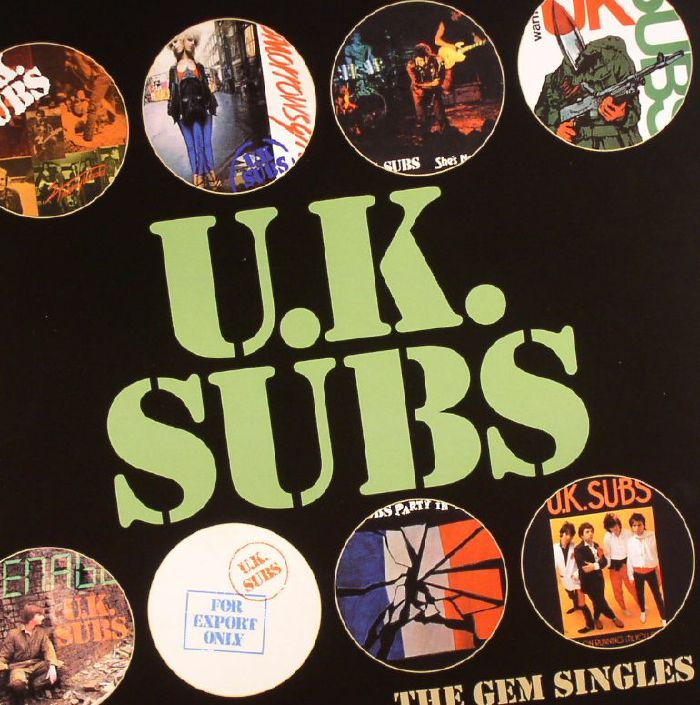 Uk Subs The Gem Singles Record Store Day 2016 Vinyl At