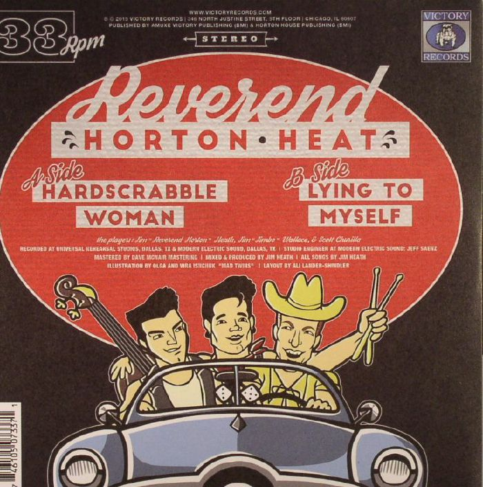 REVEREND HORTON HEAT - Hardscrabble Woman (Record Store Day 2016)