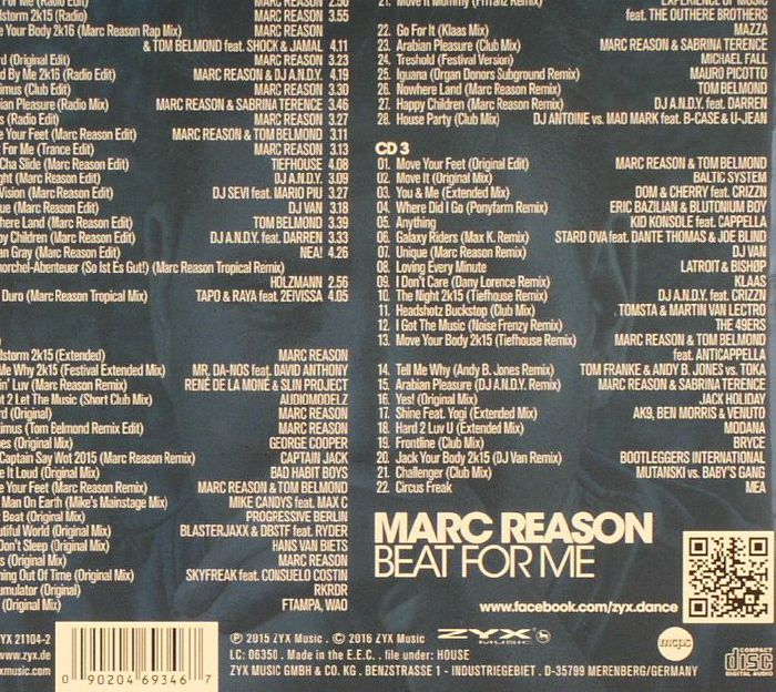 REASON, Marc/VARIOUS - Beat For Me