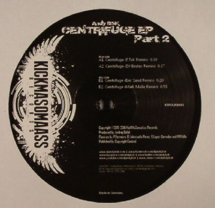 BSK, Andy - Centrifuge EP Part 2