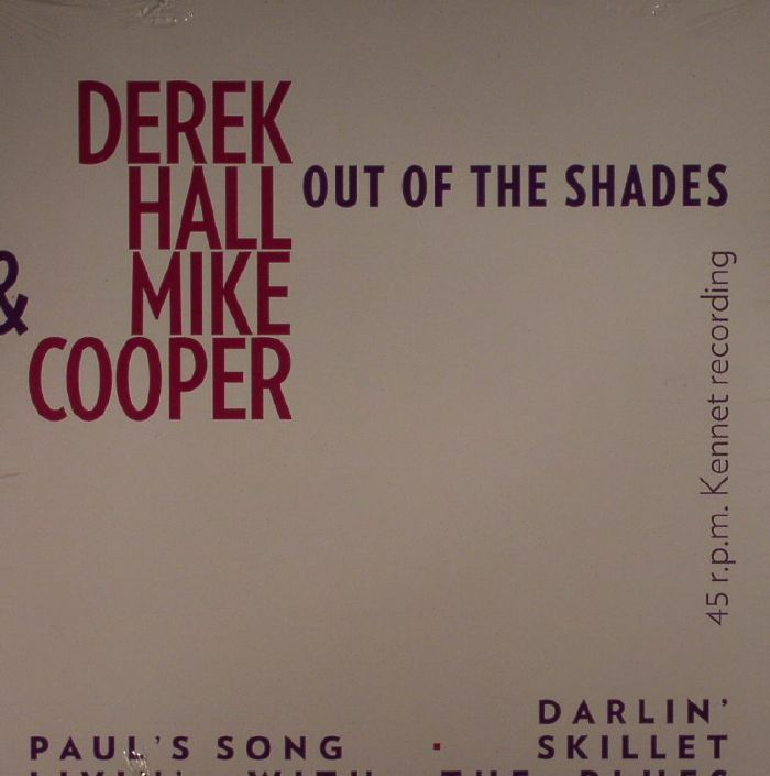 HALL, Derek/MIKE COOPER - Out Of The Shades (Record Store Day 2016)