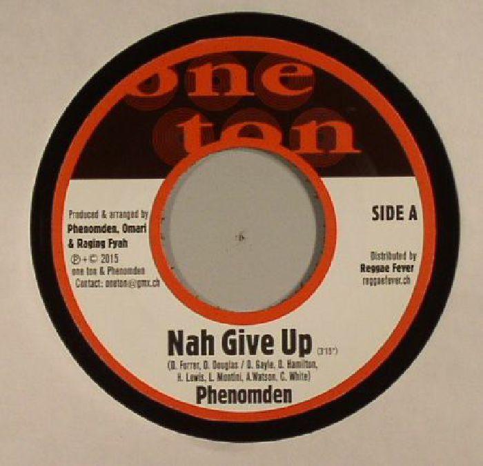 PHENOMDEN/NATEL - Nah Give Up (Motivation riddim)