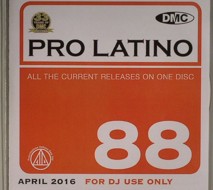 VARIOUS - DMC Pro Latino 88: April 2016 (Strictly DJ Only)