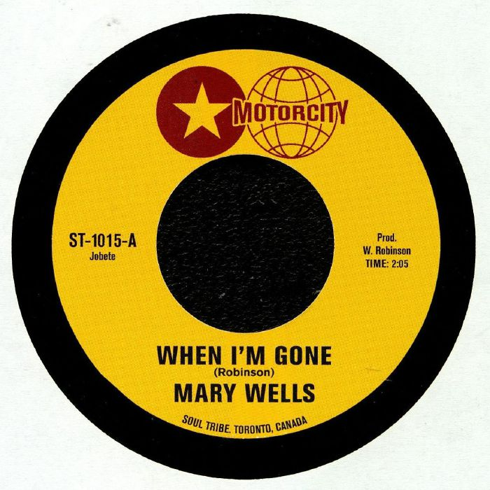 WELLS, Mary/LINDA GRINER - When I'm Gone