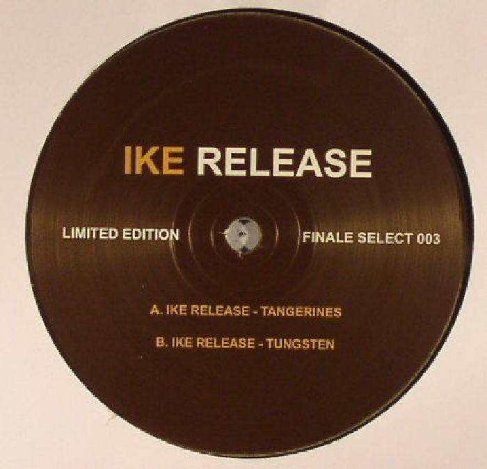 IKE RELEASE - Tungsten  EP