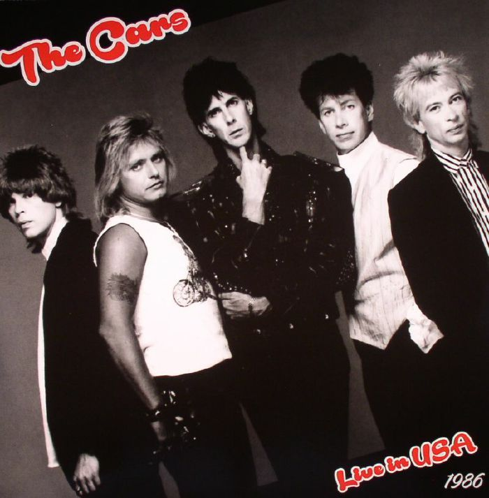 The CARS Live In USA 1986 vinyl at Juno Records.