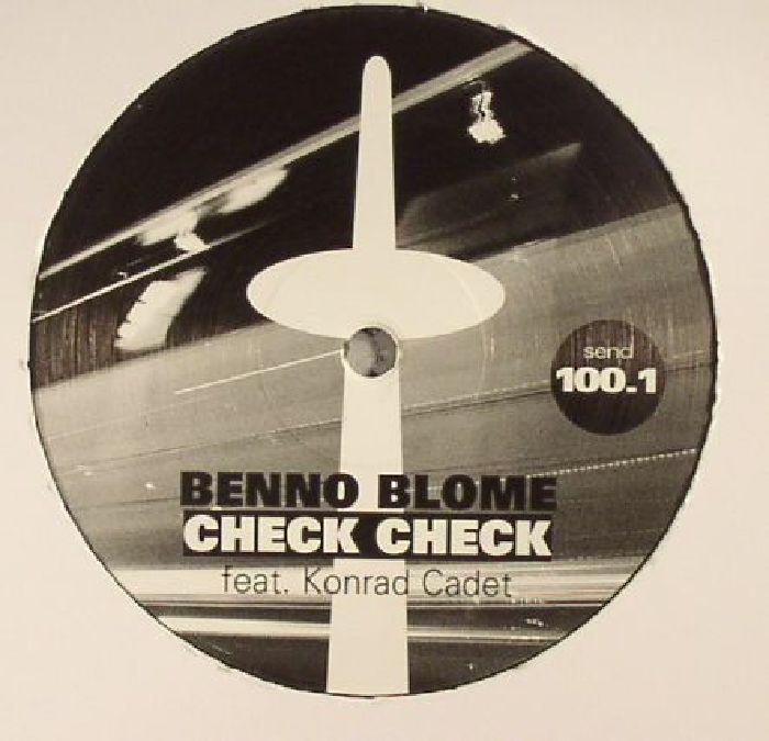 BLOME, Benno feat KONRAD CADET - Check Check