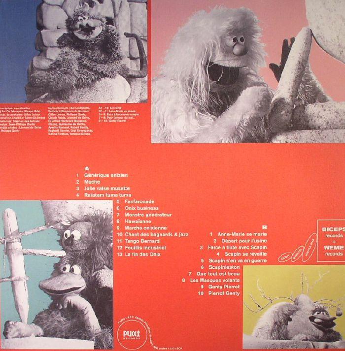 ROUBAIX, Francois De/BERNARD MAITRE - Les Onix: Enregistrements Meconnus Pour Marionnettes: Theatre Et Television (1972-1976)