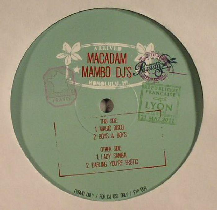 MACADAM MAMBO DJ's - Macadam Mambo EP