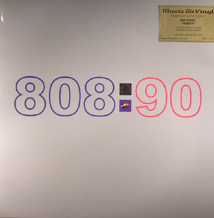 808 STATE - 808:90 (Expanded Edition)