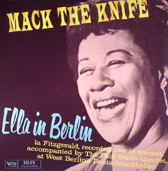 FITZGERALD, Ella - Mack The Knife: Ella In Berlin