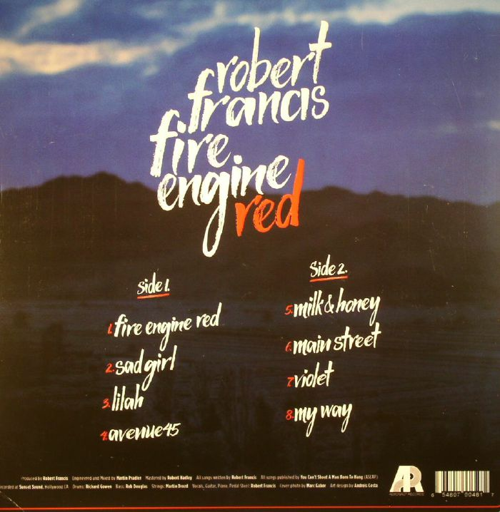 FRANCIS, Robert - Fire Engine Red