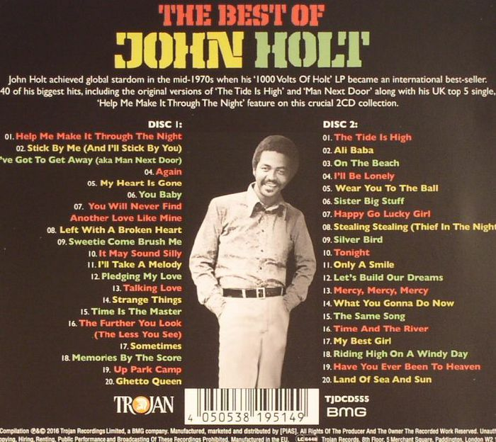 John Holt The Best Of John Holt Vinyl At Juno Records