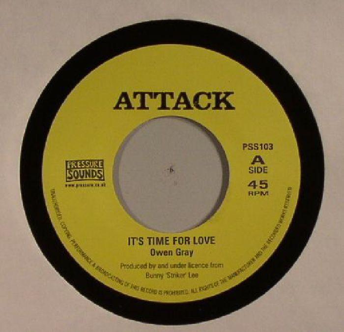 GRAY, Owen/BOBBY ELLIS/VAL BENNETT - It's Time For Love