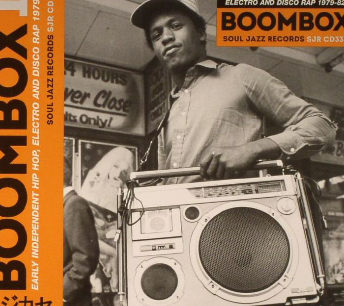 VARIOUS - Boombox 1: Early Independent Hip Hop Electro & Disco Rap 1979-82