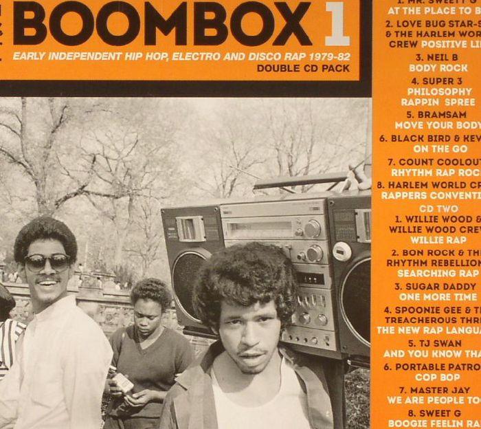 VARIOUS - Boombox 1: Early Independent Hip Hop Electro & Disco Rap 1979-82