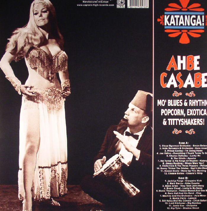 VARIOUS - Katanga! Ahbe Casabe: Exotic Blues & Rhythm Vol 1 & 2