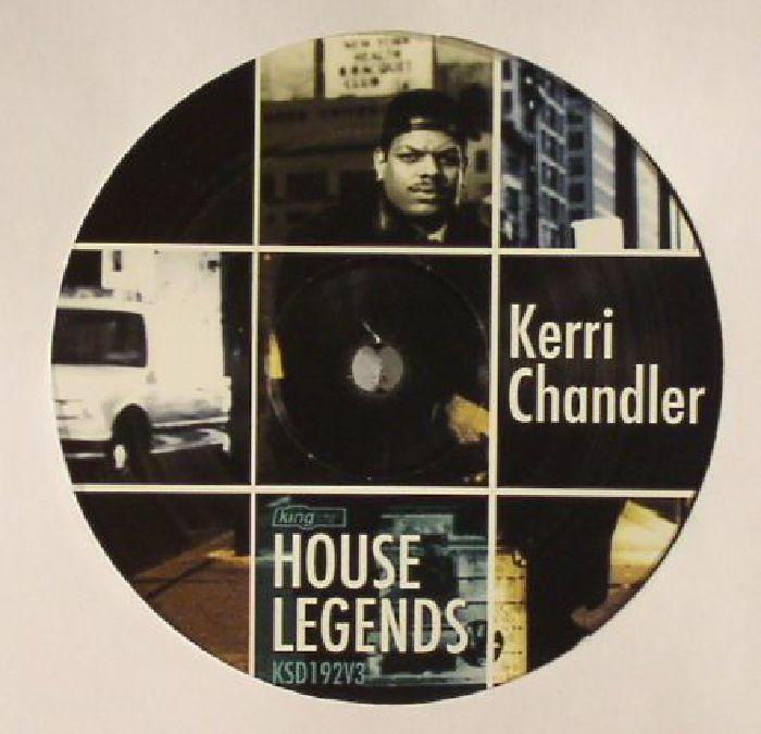 CHANDLER, Kerri/ANADA PROJECT/CAROLYN HARDLING - House Legends: Kerri Chandler Sampler EP 3