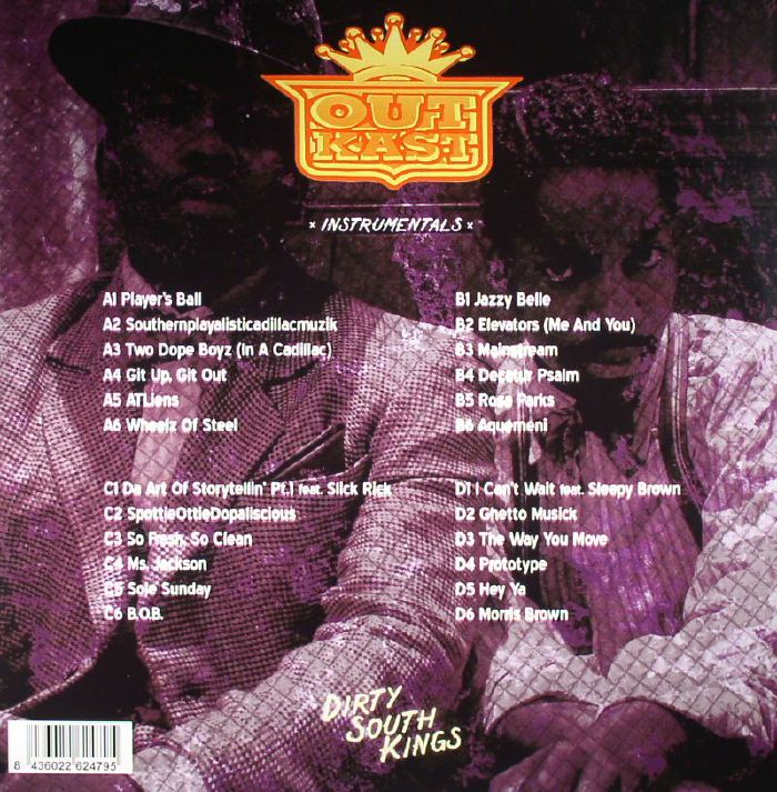 OUTKAST - Dirty South Kings Instrumentals