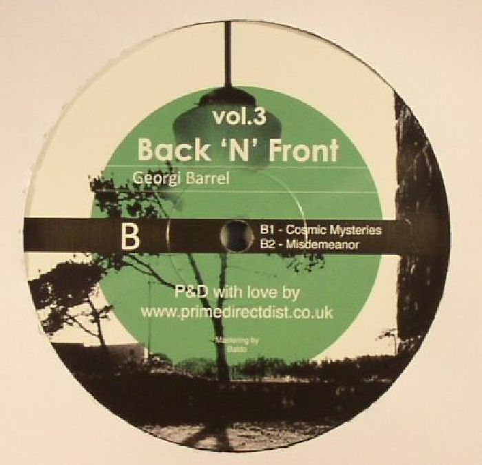 TRENCH, Jamie/GEORGI BARREL - Back N Front Vol 3
