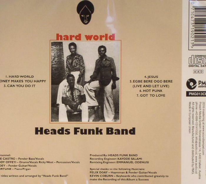 HEADS FUNK BAND - Hard World