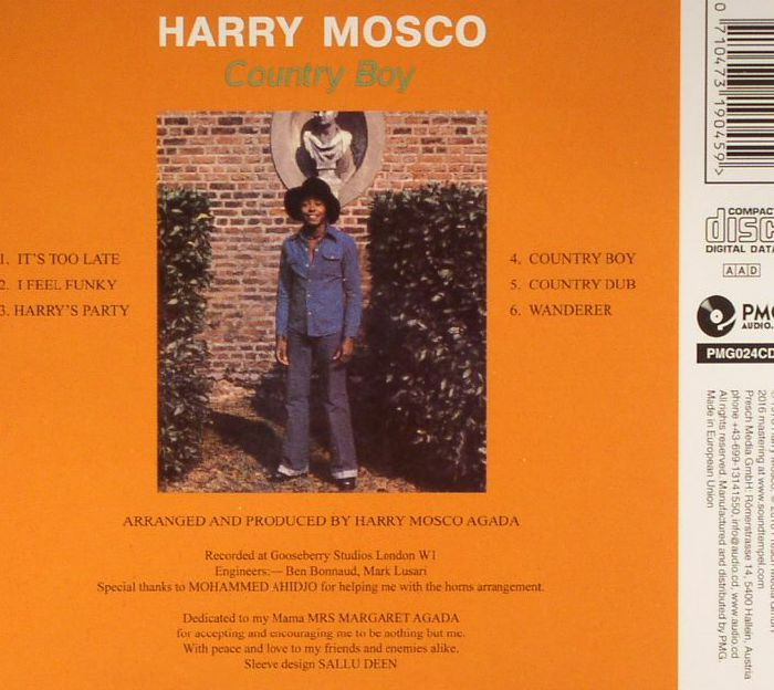 MOSCO, Harry - Country Boy: Mr Funkees