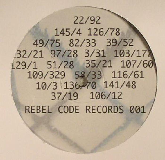 REBEL CODE - 8/342 8/345