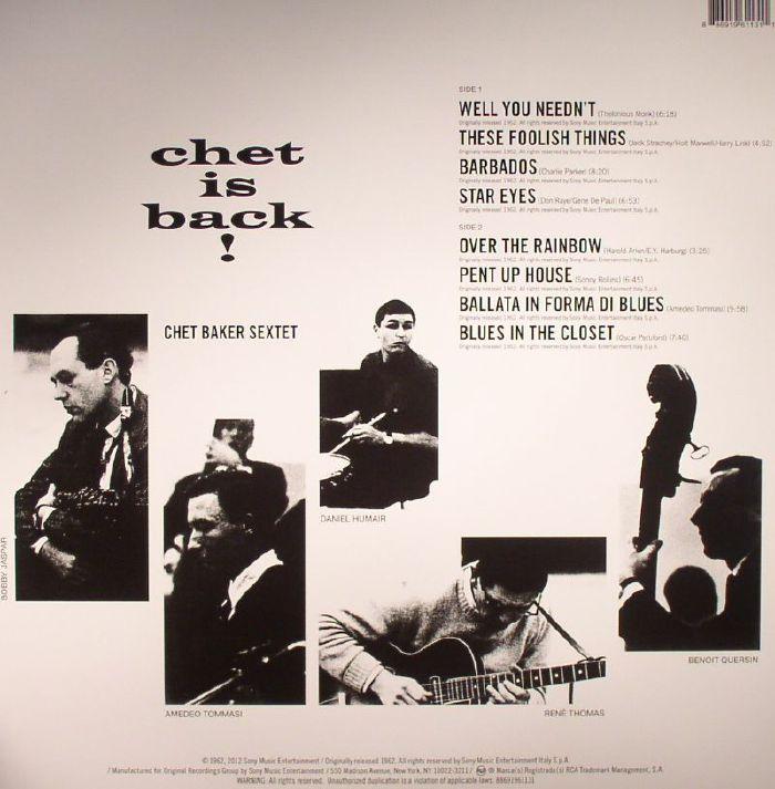 CHET BAKER SEXTET - Chet Is Back! 50th Anniversary