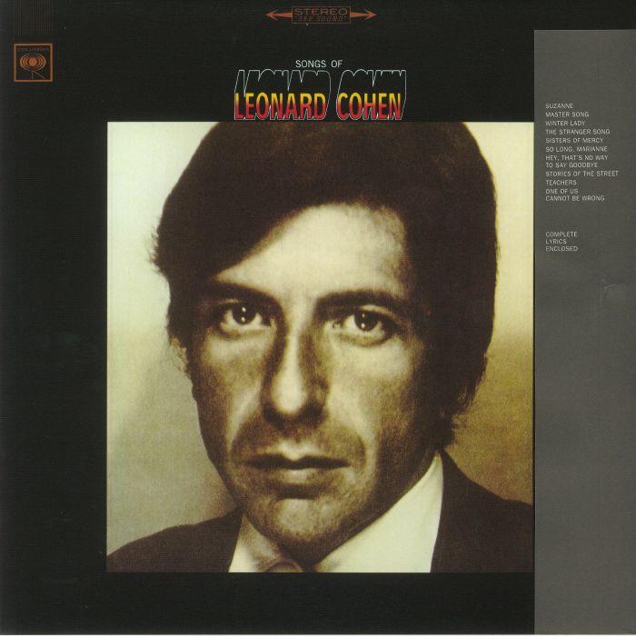 Leonard cohen songs of leonard cohen vinyl at juno records for Leonard cohen music videos