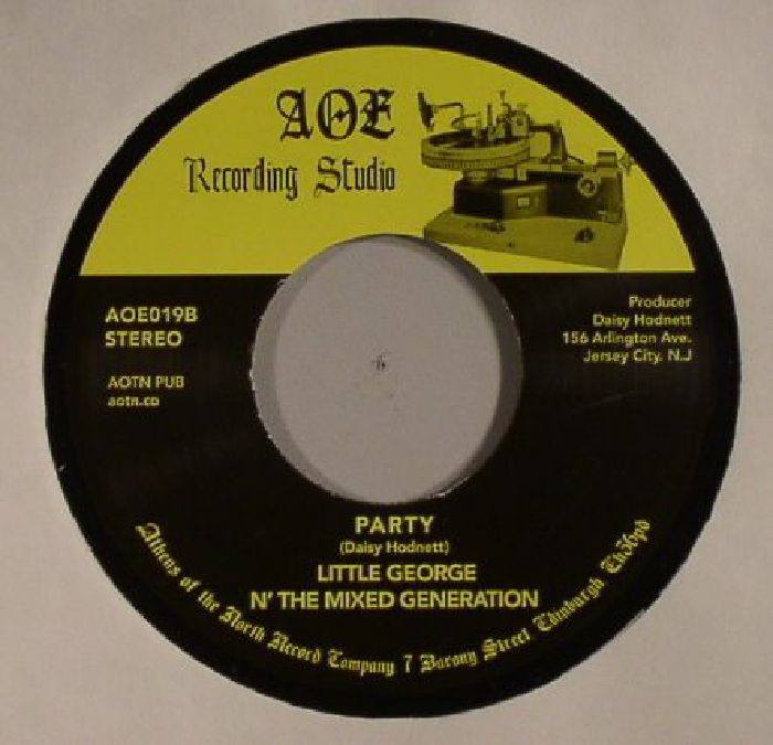 LITTLE GEORGE N' THE MIXED GENERATION - Listen