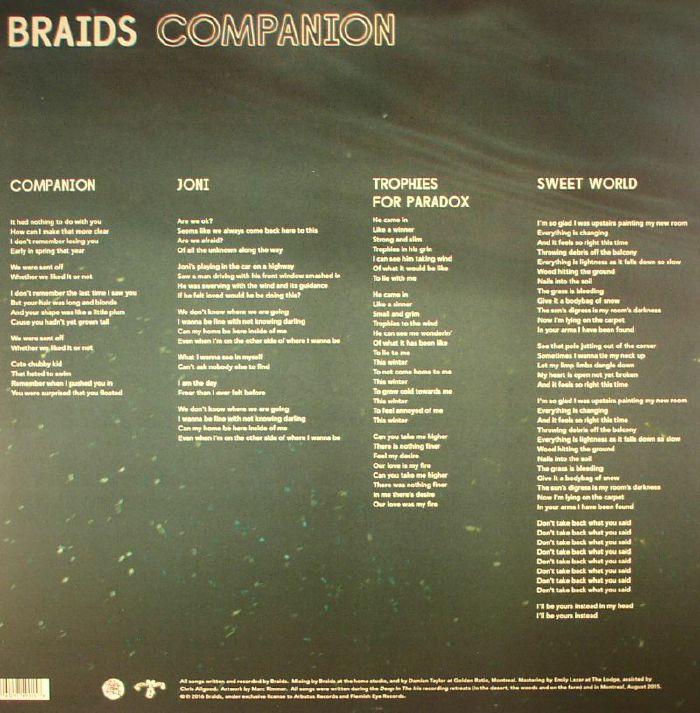 BRAIDS - Companion