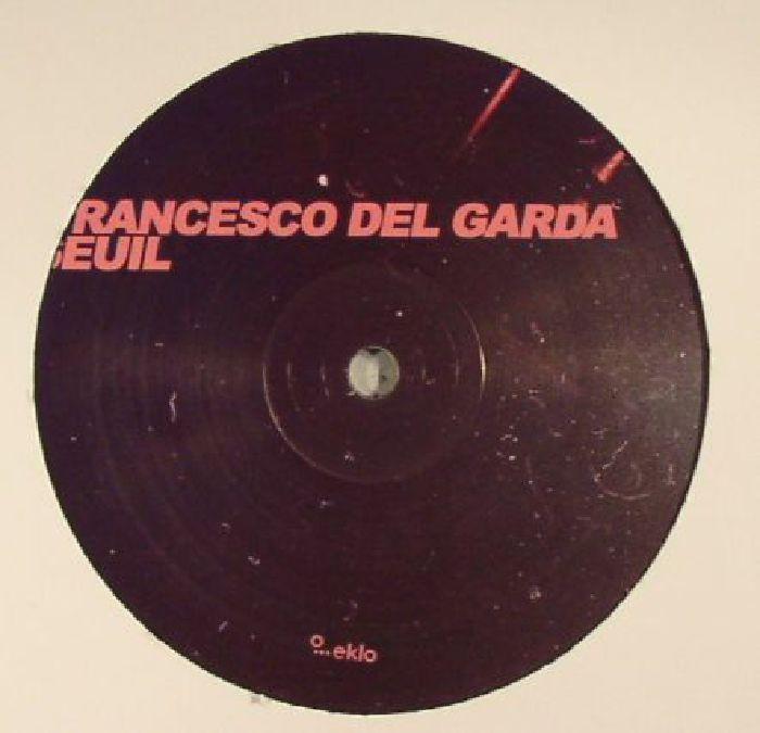 DEL GARDA, Francesco/SEUIL - Bubble EP