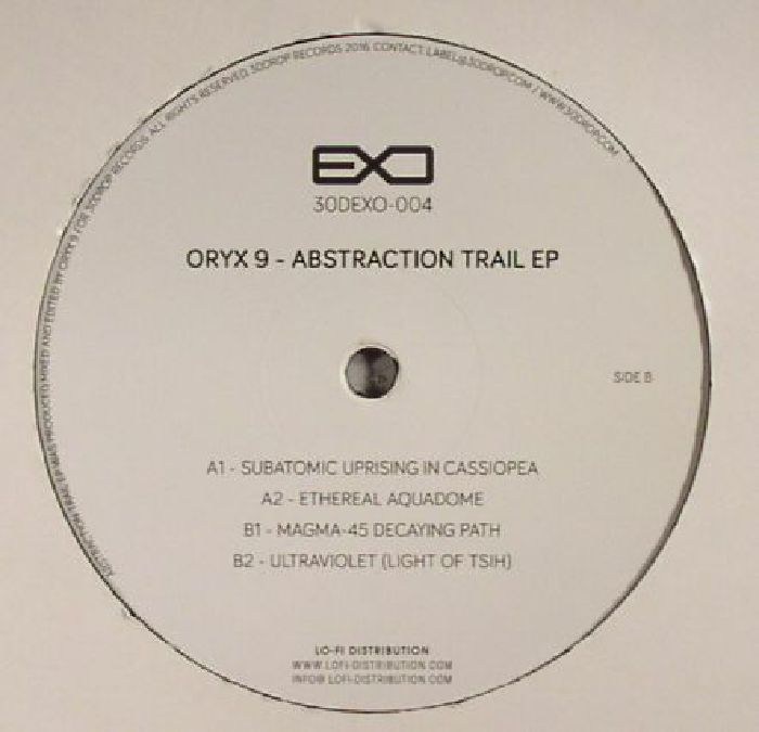 ORYX 9 - Abstraction Trail EP