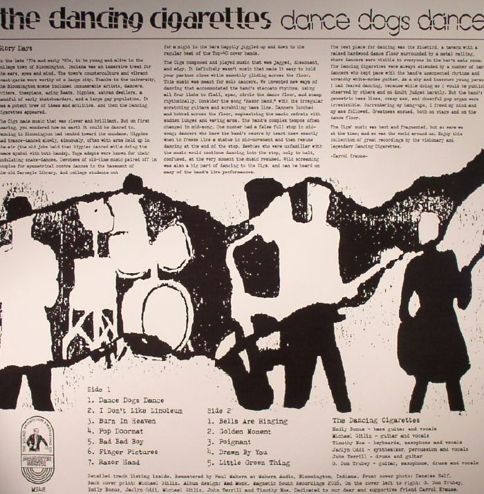 DANCING CIGARETTES, The - Dance Dogs Dance (Archival Recordings 1981-83)