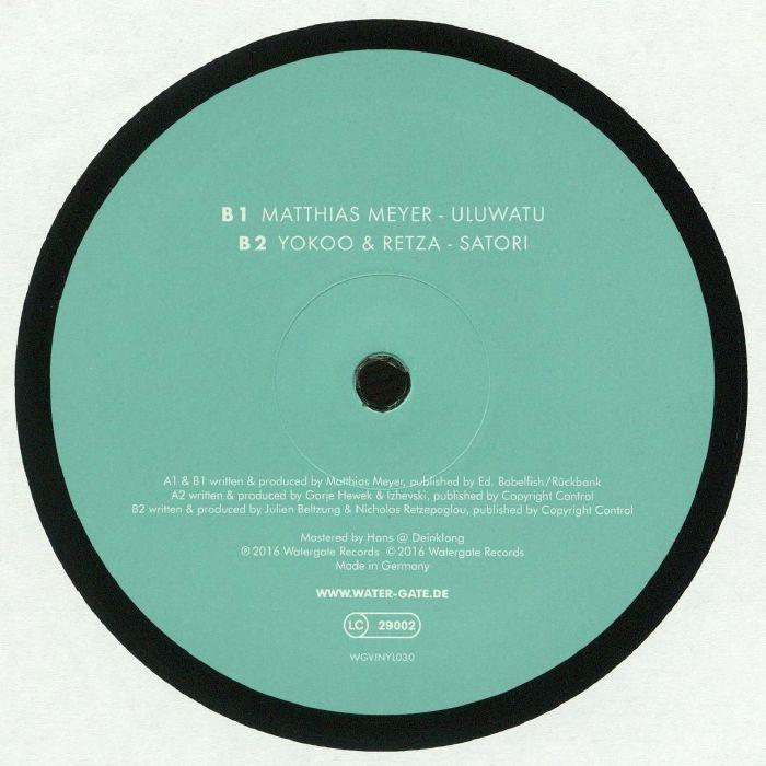 MEYER, Matthias/GORJE HEWEK/IZHEVSKI/YOKOO/RETZA - Watergate 20 EP