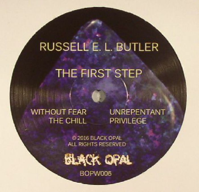 BUTLER, Russell E L - The First Step