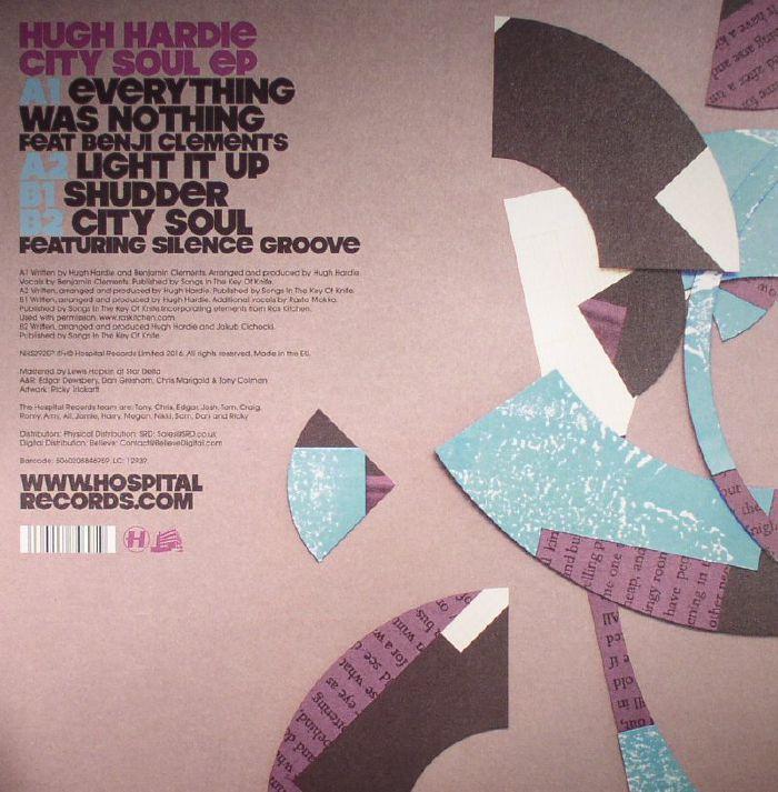 HARDIE, Hugh - City Soul EP