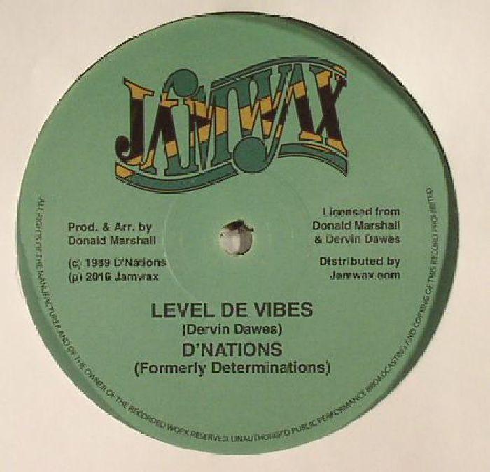 D NATIONS - Level De Vibes