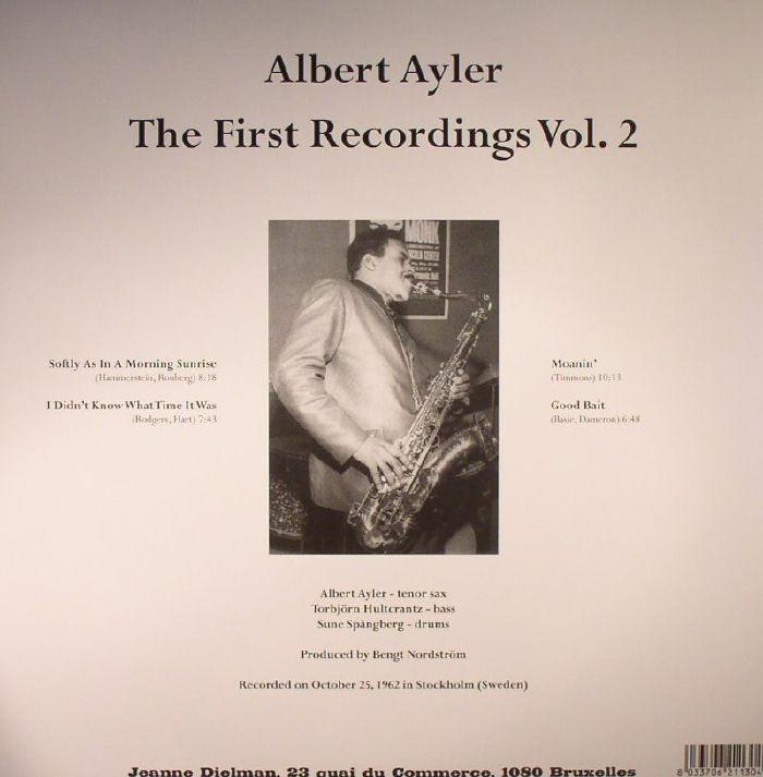 AYLER, Albert - The First Recordings Vol 2