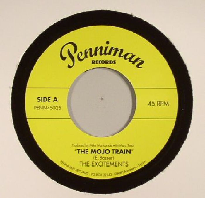 EXCITEMENTS, The - The Mojo Train