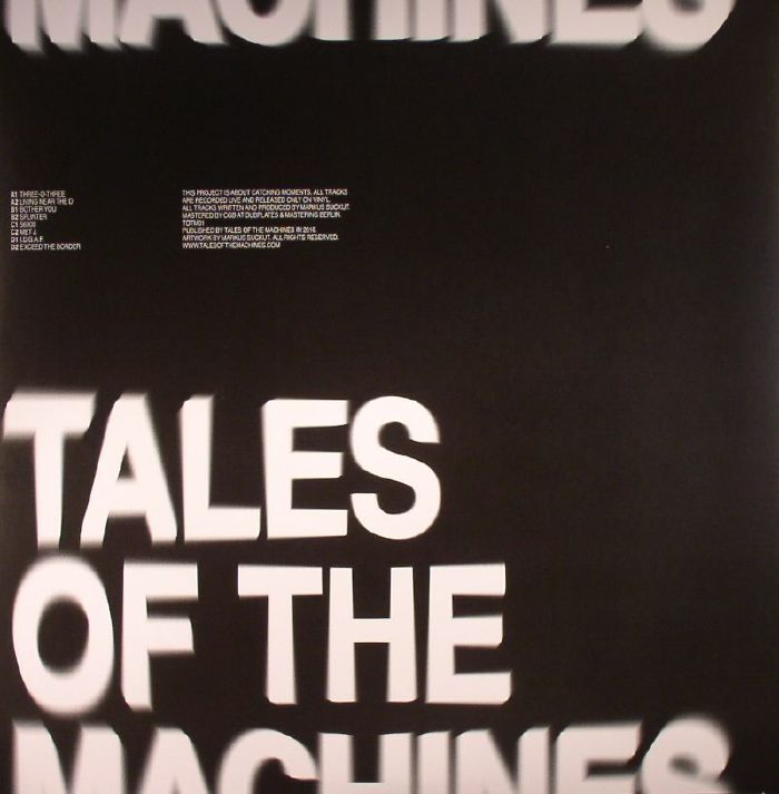 TALES OF THE MACHINES - Tales Of The Machines