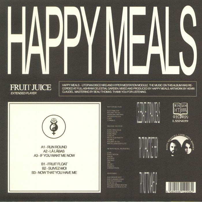 HAPPY MEALS - Fruit Juice