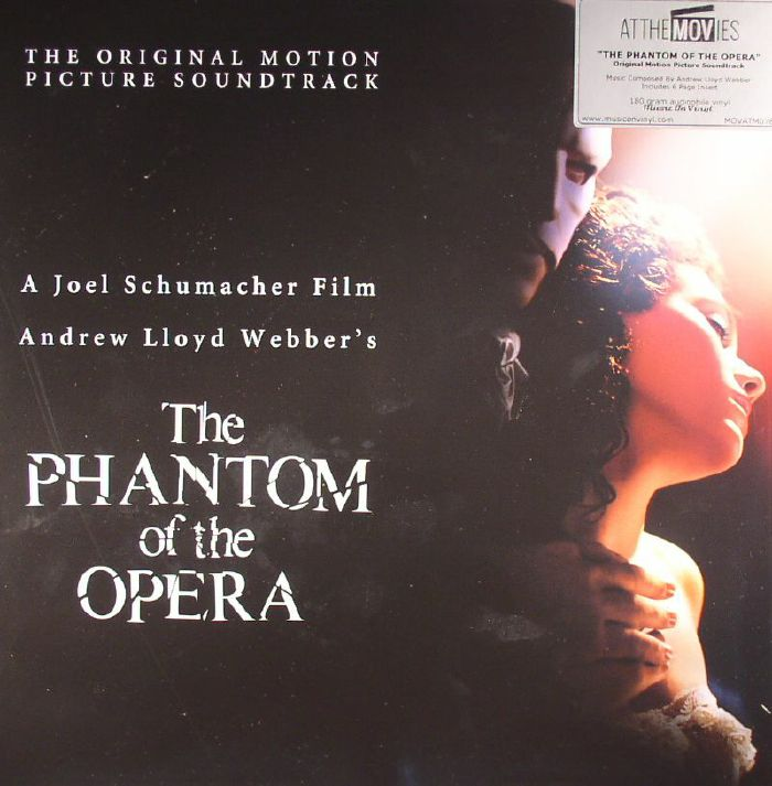 WEBBER, Andrew Lloyd - The Phantom Of The Opera (Soundtrack)