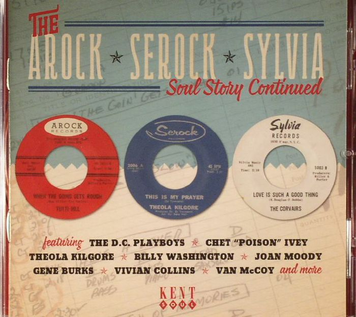 VARIOUS - The Arock Serock Sylvia: Soul Story Continued