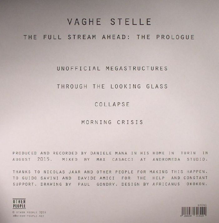 VAGHE STELLE - The Full Stream Ahead: The Prologue