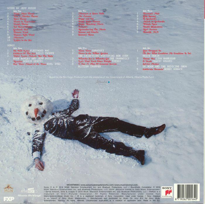 Jeff Russo Various Fargo Year 2 Soundtrack Vinyl At Juno